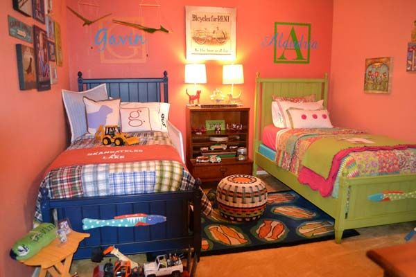 20 Brilliant Ideas For Boy Girl Shared Bedroom Architecture Design Shared Girls Bedroom Boy And Girl Shared Room Boy And Girl Shared Bedroom