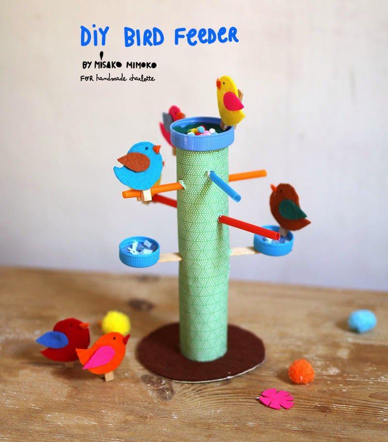 misako mimoko: New DIY / BIRD FEEDER PLAY SET! Neat bird feeder