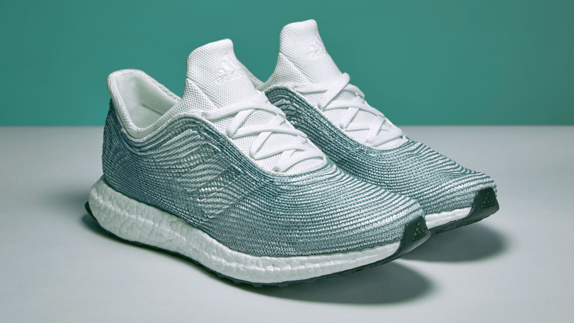 These Sick Sneakers Are Made From Ocean Garbage | Adidas