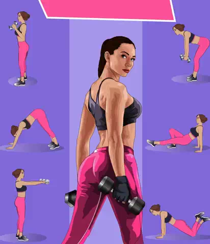 Fitness Challenge to lose weight