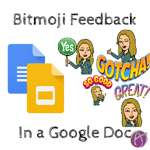Bitmoji feedback in a Google Doc is simple  Install the