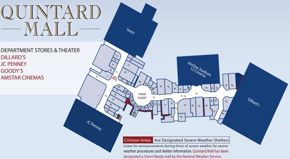 Quintard Mall Shopping Plan Mall Gps Coordinates Black Friday Holiday