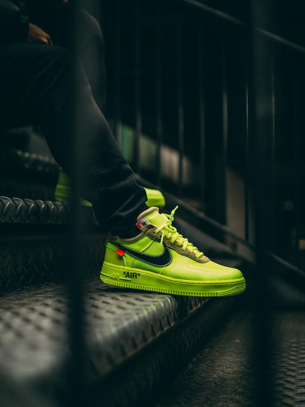 Off White X Nike Air Force 1 Volt 2018 By Peter Coyne Nike Air Shoes Nike Shoes Air Force Sneakers Men Fashion