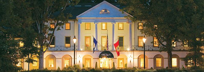 The Iconic Williamsburg Inn Was Built By John D Rockefeller Jr In 1937
