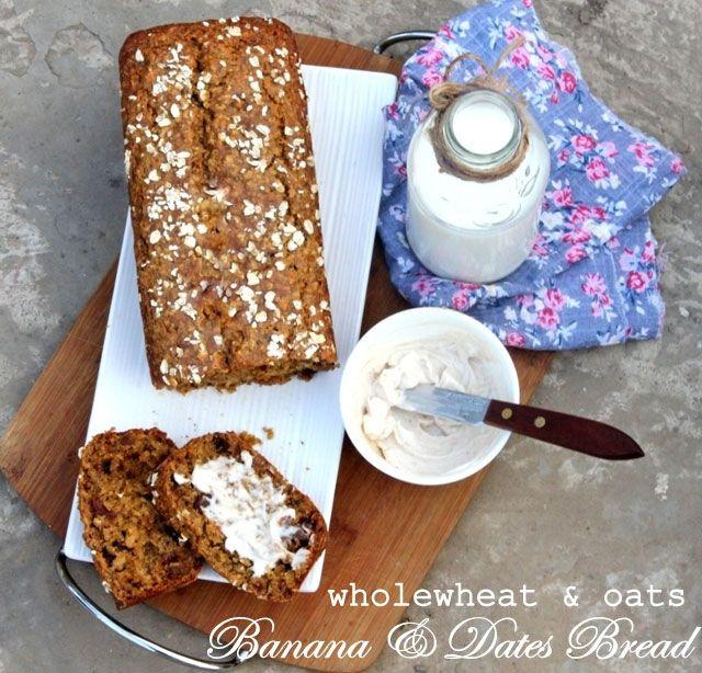 Banana bread recipe oats healthy