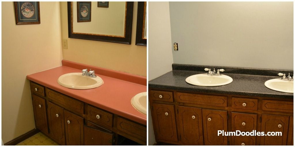 Countertop Transformations Makeover