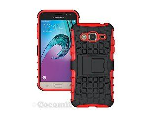 BEST Galaxy J3 2016 Case, Cocomii® [HEAVY DUTY] Grenade Case *NEW* [Ultra Titan Armor] Premium Shockproof Kickstand Bumper Case - Full-body Rugged Hybrid Protective Cover Bumper Case for Samsung Galaxy J3 2016 • Unique, rugged design with style and the utmost protection • Raised edge around the front lip for face-down protection • Extreme Protection from drops and scratches • Unique, slide-out kickstand for ease of video viewing • 5% Off Coupon Code 6BXA7NOZ This Week Only!
