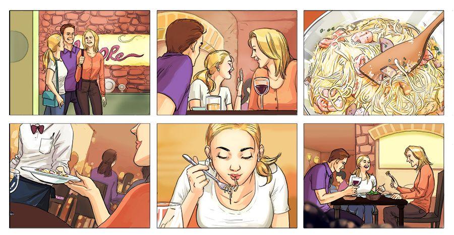 Resultado De Imagem Para Storyboard Commercial | Storyboard