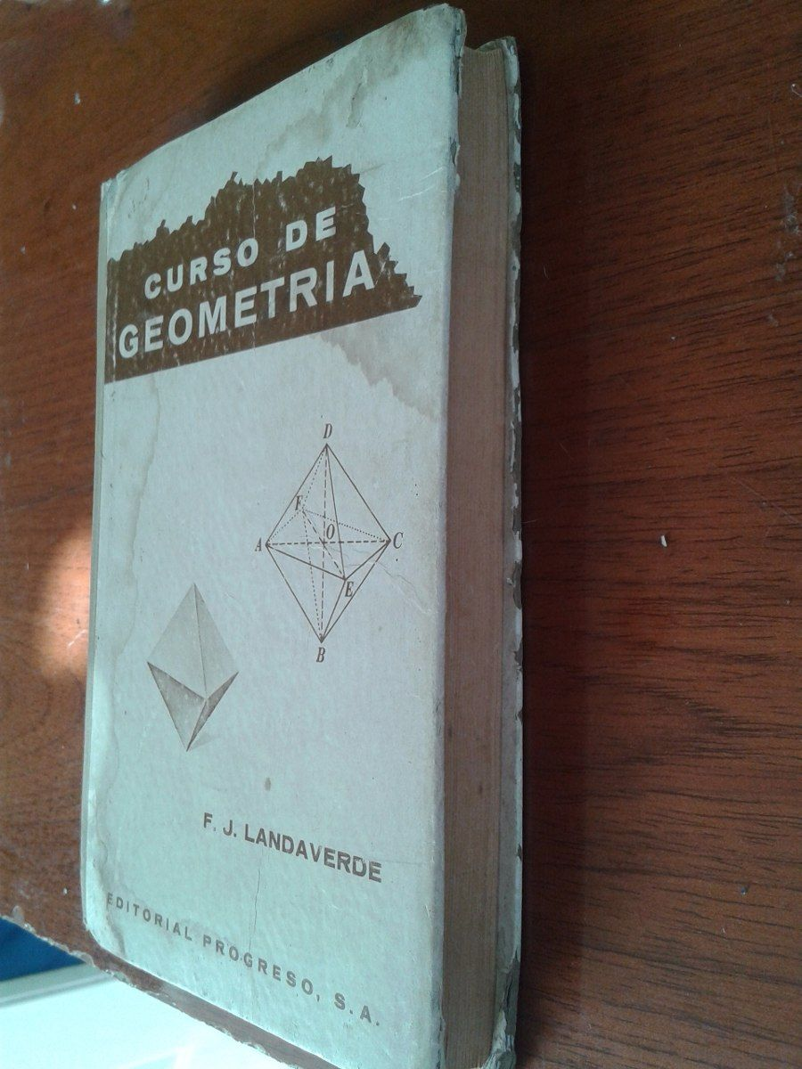 curso de geometria / f.j landaverde/1970