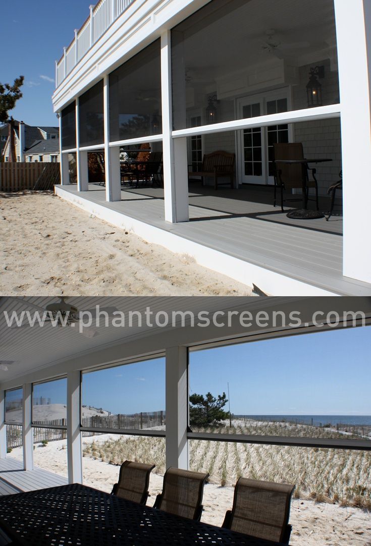 Motorized Retractable Screens For Porches, Patios And Lanais