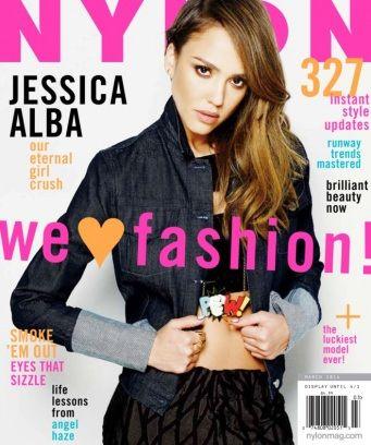 NYLON March 2014  Jessica Alba