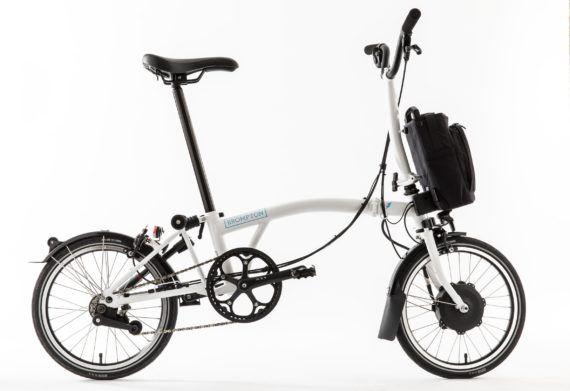 Brompton Folding Electric Bicycle Has 50 Mile Range Ships In 2018 Folding Bike Brompton Electric Bike