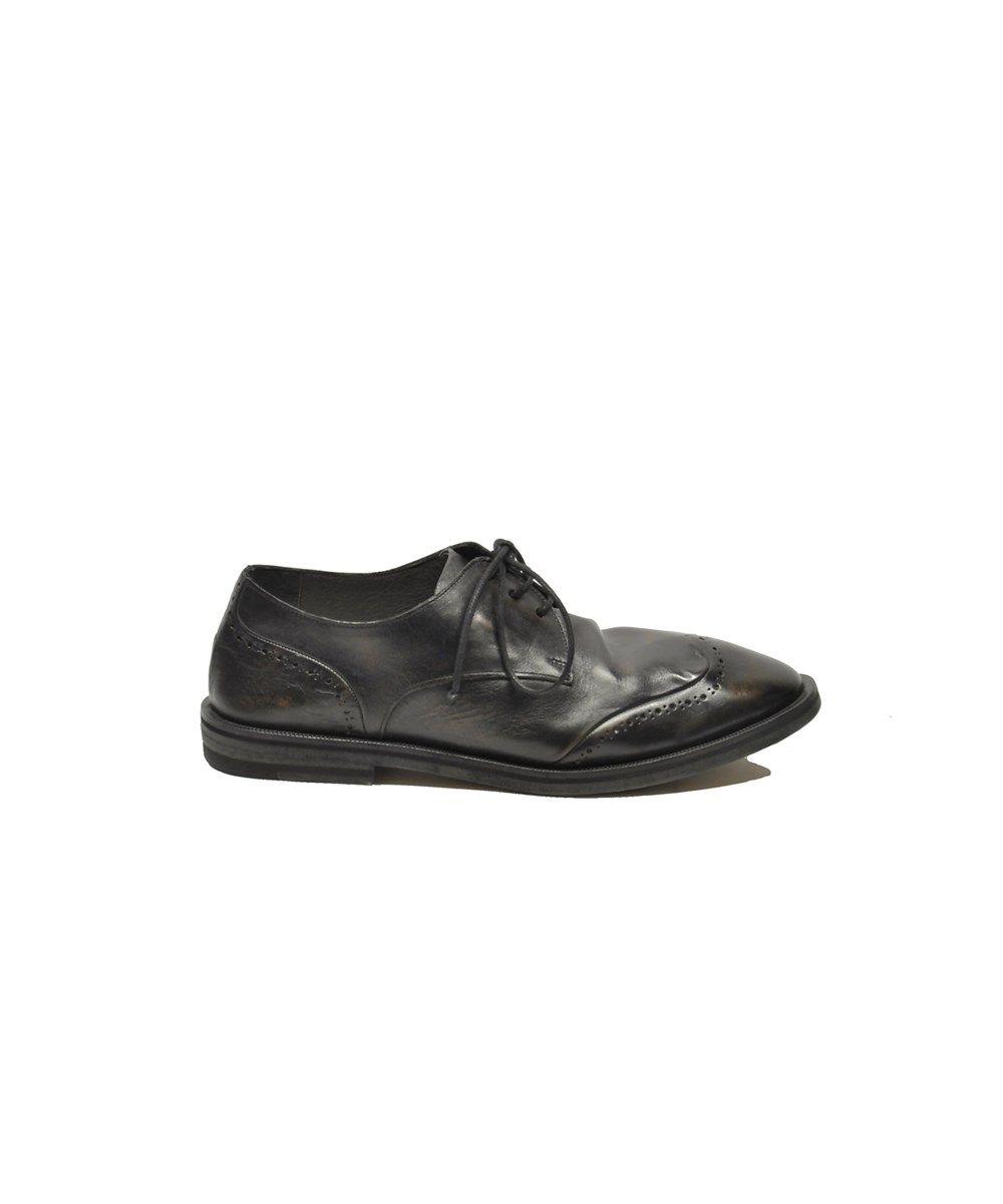 Marsall Découpe Détail Des Chaussures À Lacets - Blanc dbOP24C8