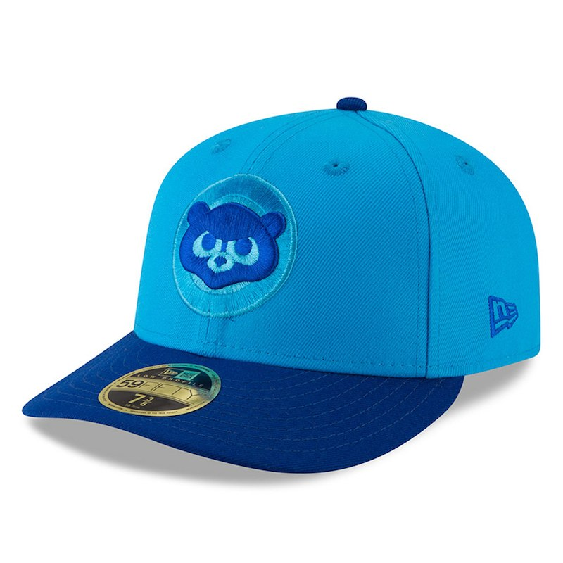 d38e8eee Chicago Cubs New Era 2018 Players' Weekend Low Profile 59FIFTY Fitted Hat –  Blue/Blue