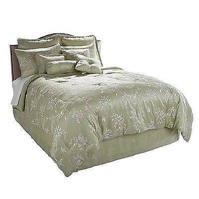 Highgate Manor Comforter Set New Tuscany Bedroom 10 Piece Set Sage King Hsn Highgatemanorcomfortersetnewtuscanybedroo Comforter Sets Blue Bedroom Comforters
