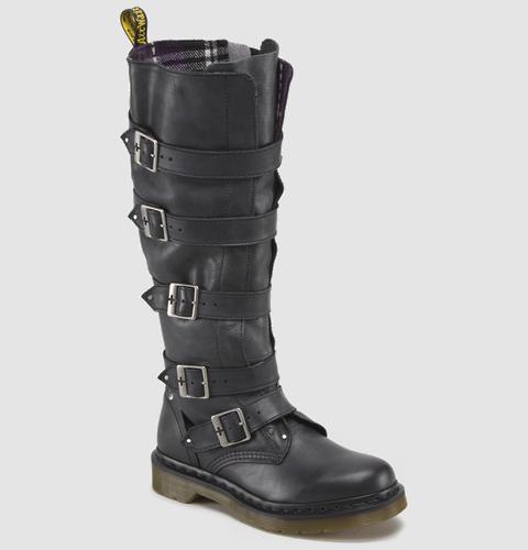 Dr Martens PHINA BLACK MIRAGE - Doc Martens Boots #boots