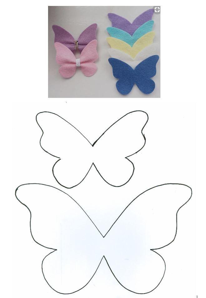 Pinterest photo - #moldes #dicas #moda accesorios para niñas Bow