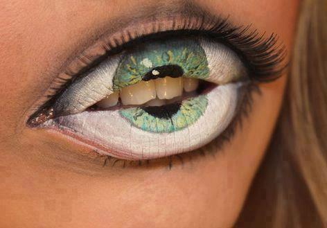 mouth as an eye