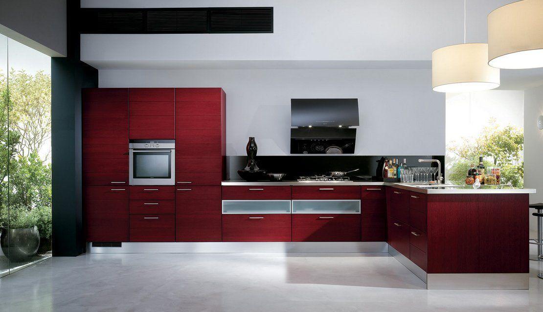 Cucine Moderne Rosse Scavolini.Cozinhas Modernas Cheias De Cor Scavolini Ii Capture