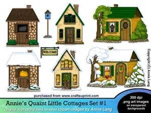 Cottage Clipart Cartoon
