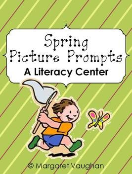Spring Picture Writing Prompts {Common Core Aligned}