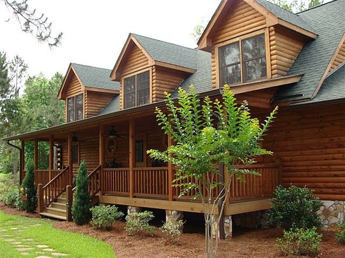 Pin By Wanda Irwin On For The Home Log Homes Log Cabin