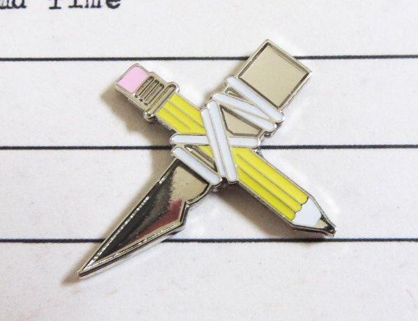 Shivs & Shanks Pin - No.2 by LukeDrozd on Etsy https://www.etsy.com/ca/listing/281569526/shivs-shanks-pin-no2
