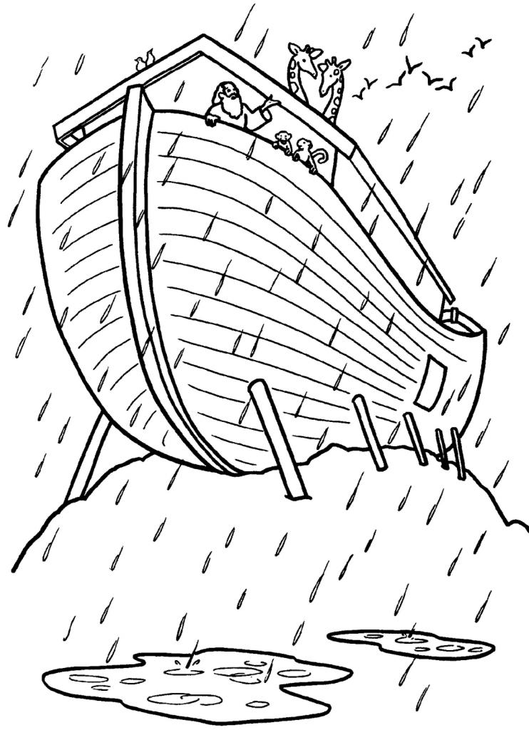 Dibujo De Arca De Noe Para Pintar Imprimir Sobres El Arca De Noe Pintar