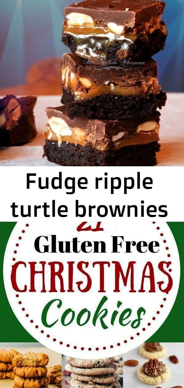 ripple turtle brownies When you want a truly decadent brownie all you need are these Fudge Ripple T