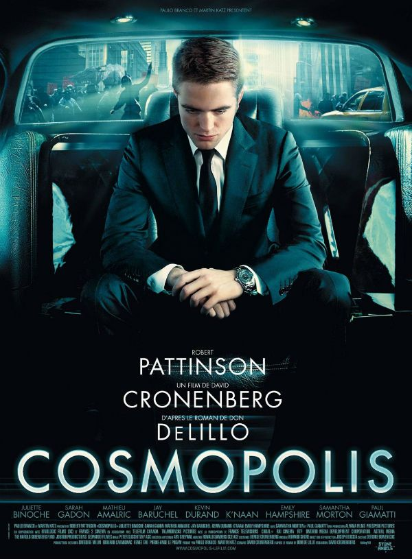 Cosmopolis 2012 Filmes Cartazes De Filmes Novelas