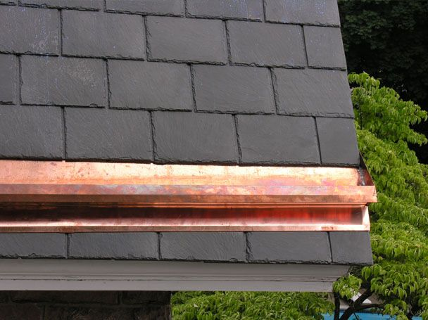 Copper Gutter Leeders 3 Copper Gutters Gutters Building
