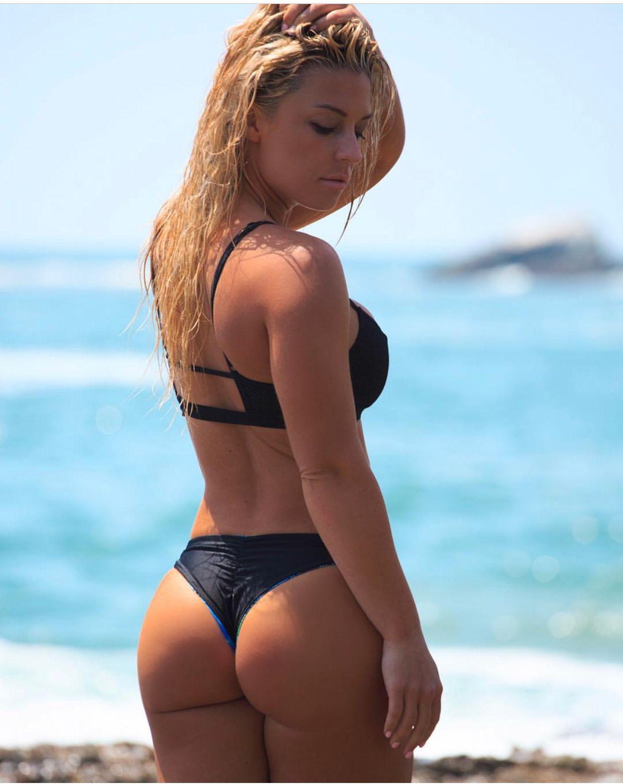 fd204b5192 Beach babe Tara Frost