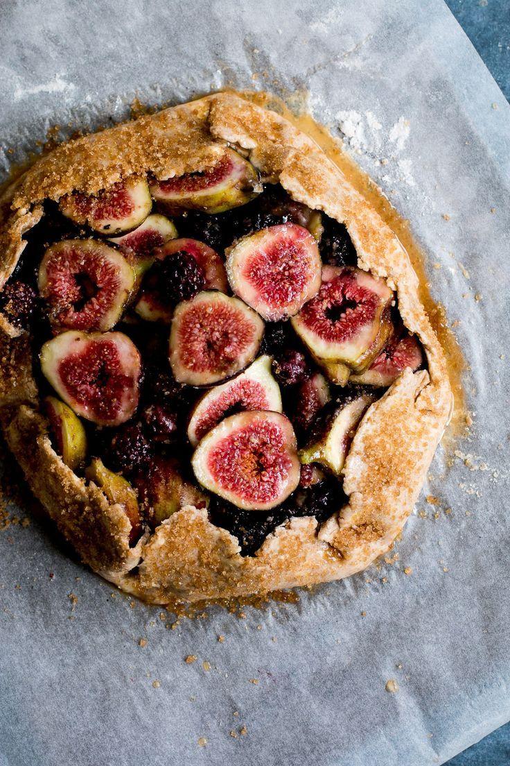 Fig, Blackberry & Hazelnut Rye Galette