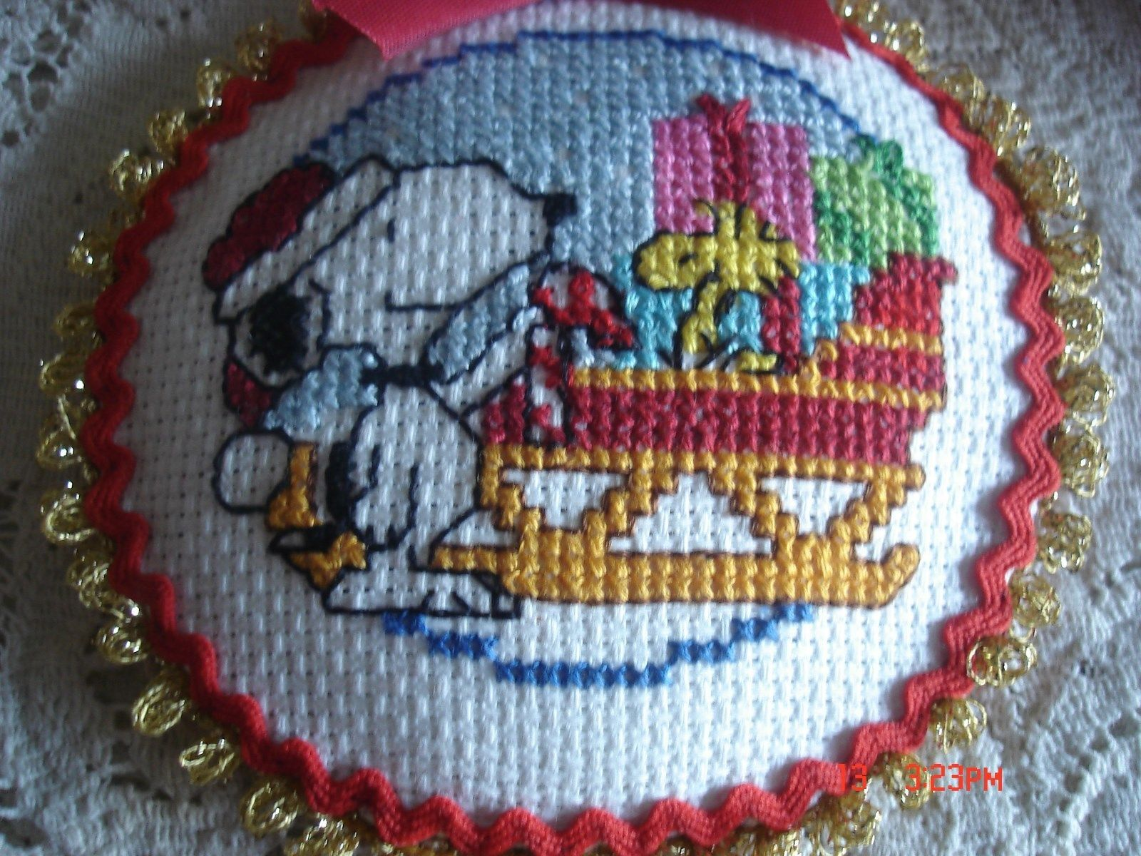 Snoopy, Woodstock and the Sleigh