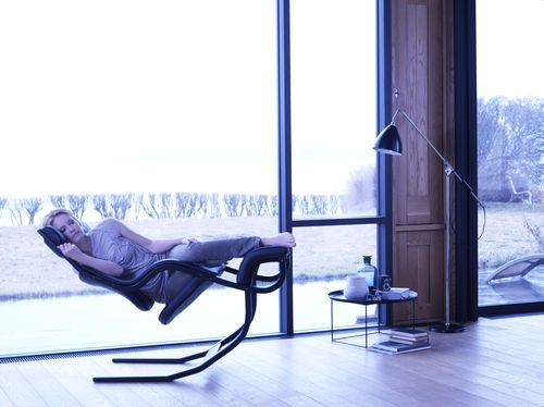 Contemporary Rocking Armchair Gravity Balans By Peter Opsvik Varier With Images Zero Gravity Recliner Chair Design Rocking Armchair