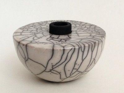 raku keramik Raku Keramik Vase von Margit Hohenberger   ceramics in 2018  raku keramik