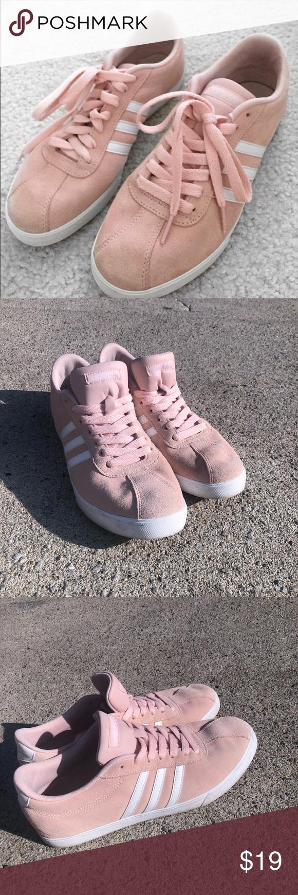 Light Pink Suede Adidas Neo | Pink suede, Pink adidas, Adidas neo