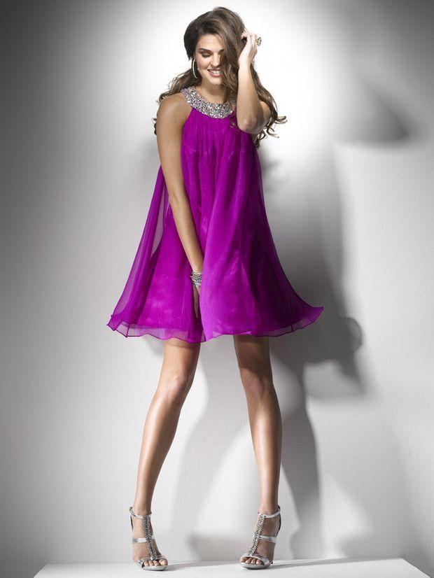 Fantástico Color Frambuesa Vestidos De Dama Inspiración - Ideas para ...