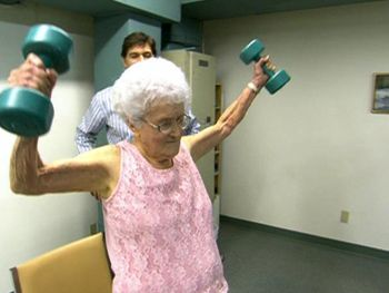Secrets of the Blue Zones | Old People Exercise and Lift ...