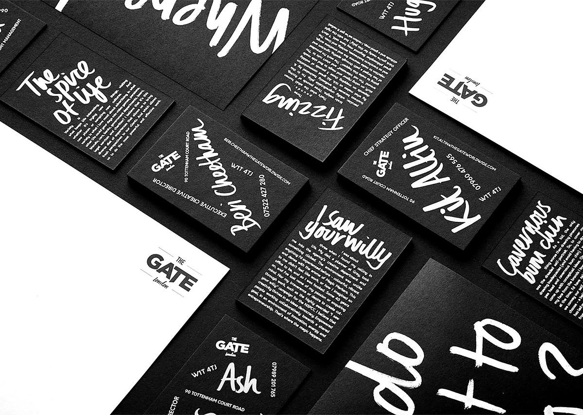 Boundless stationery by ricky richards pinterest grid design london based designer ricky richards was given a challenge to create the best agency business cards youve ever seen and make sure theyre boundless reheart Choice Image