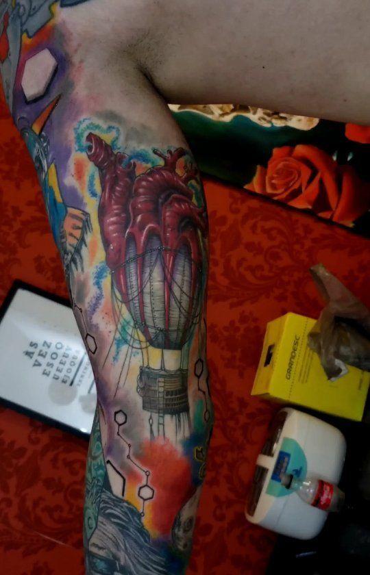 #tattoo#colortattoo #tattooist #tattoolovers#tattoogirls #realismotattoo #tatuagem