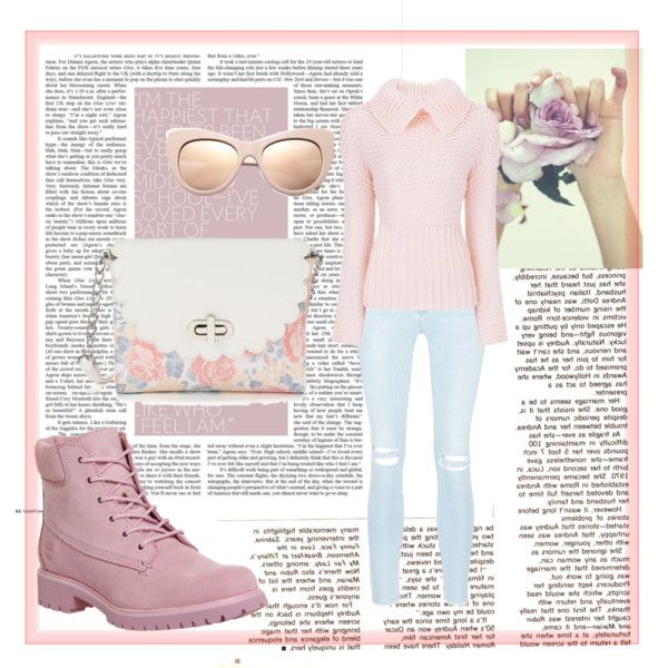Blush Crush by pastelpotter on Polyvore featuring moda, Frame Denim, Timberland, Candie's and STELLA McCARTNEY