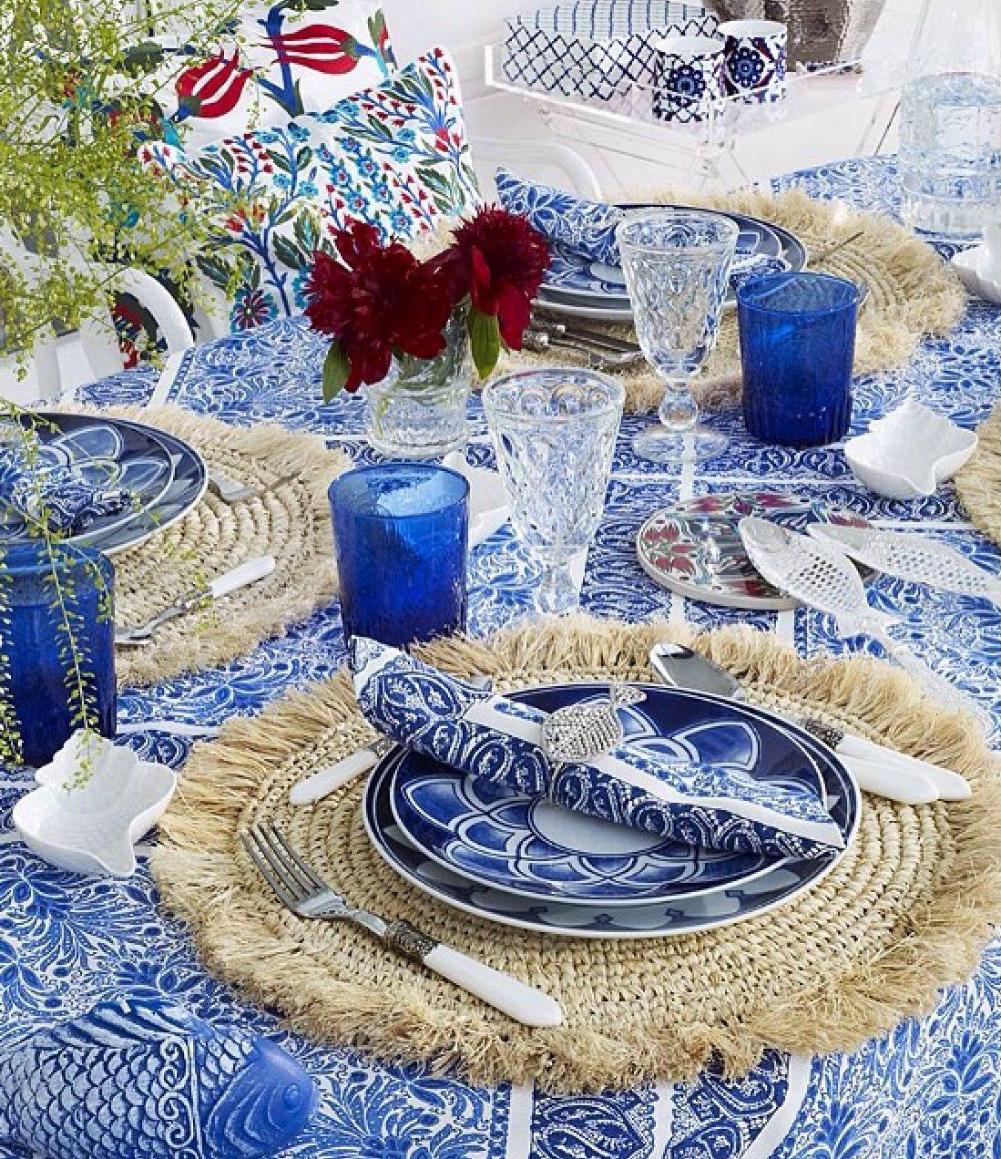 Beach party table decorations zara home  inditex  pinterest