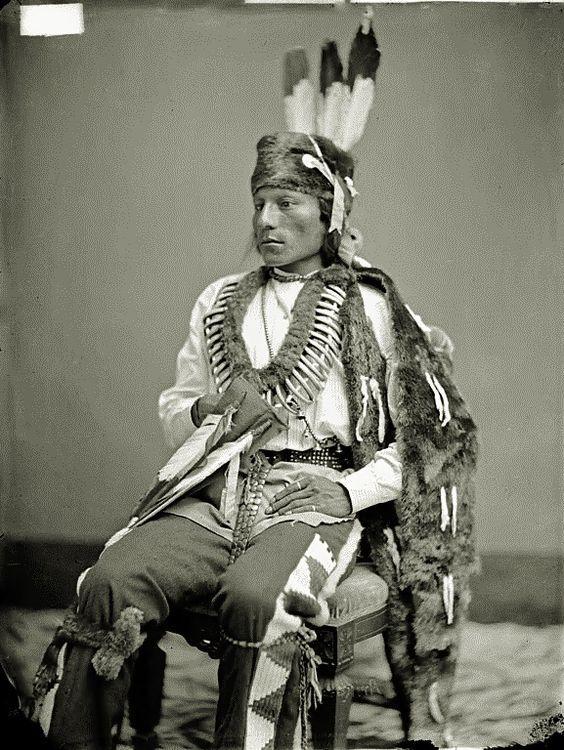 Black Fox - Arikara - 1874: