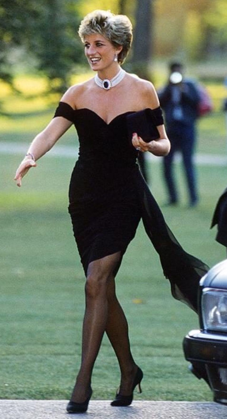 This Black Dress will always be remembered as the one she