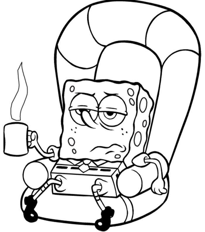 Spongebob Sick Coloring Page Spongebob Cartoon Coloring Pages Az Coloring Pages Spongebob Coloring Cartoon Coloring Pages Spongebob Cartoon