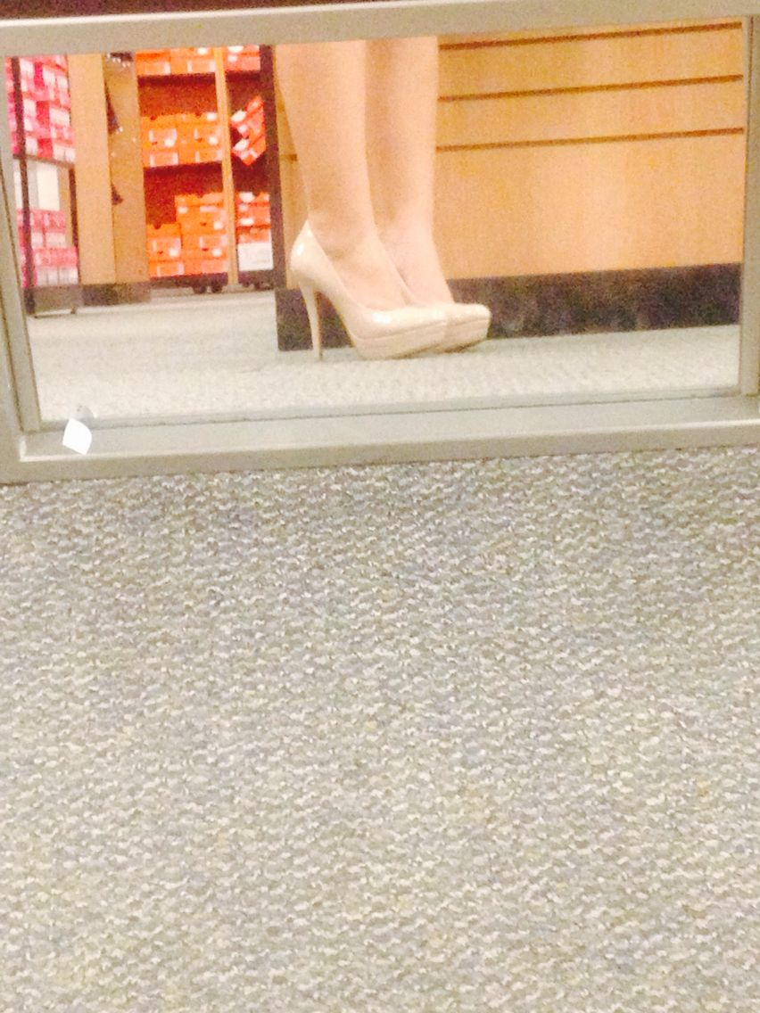 Nude heels; Lauren Conrad