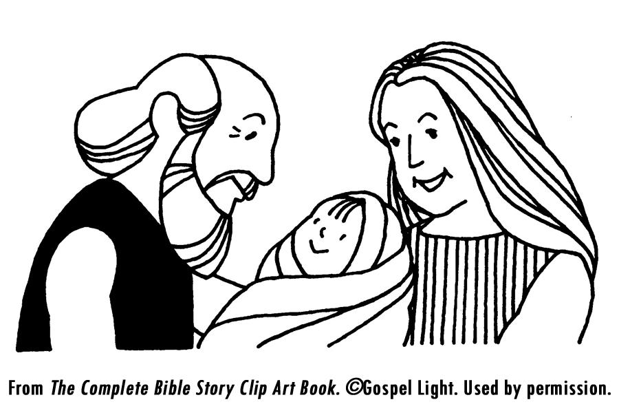 Abraham krijgt 3 bezoekers vertel, spel en knutsel ideeen