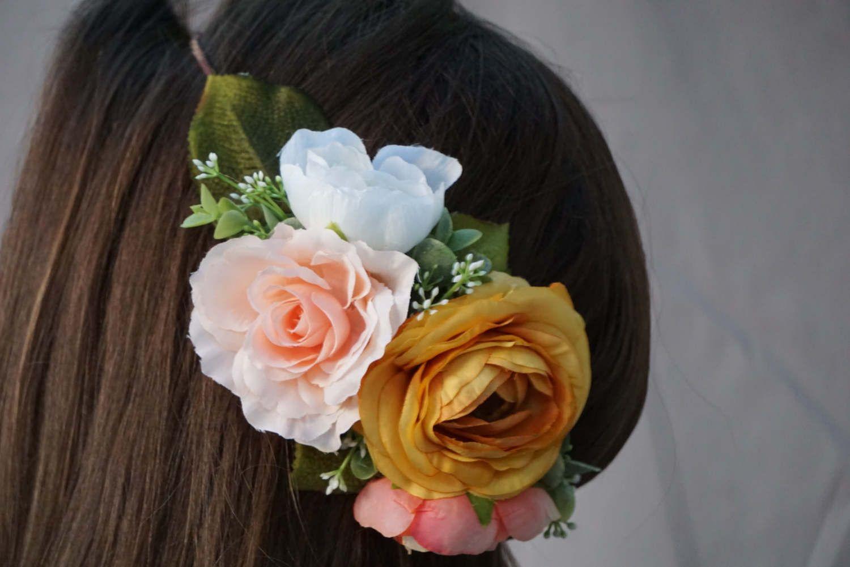 Flower crown wedding floral headband autumn flower crown bridal flower crown wedding floral headband autumn flower crown bridal headpiece flower headband izmirmasajfo