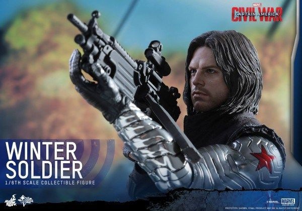 Captain America: Civil War – The Winter Soldier 1/6 Scale Figure Specifications